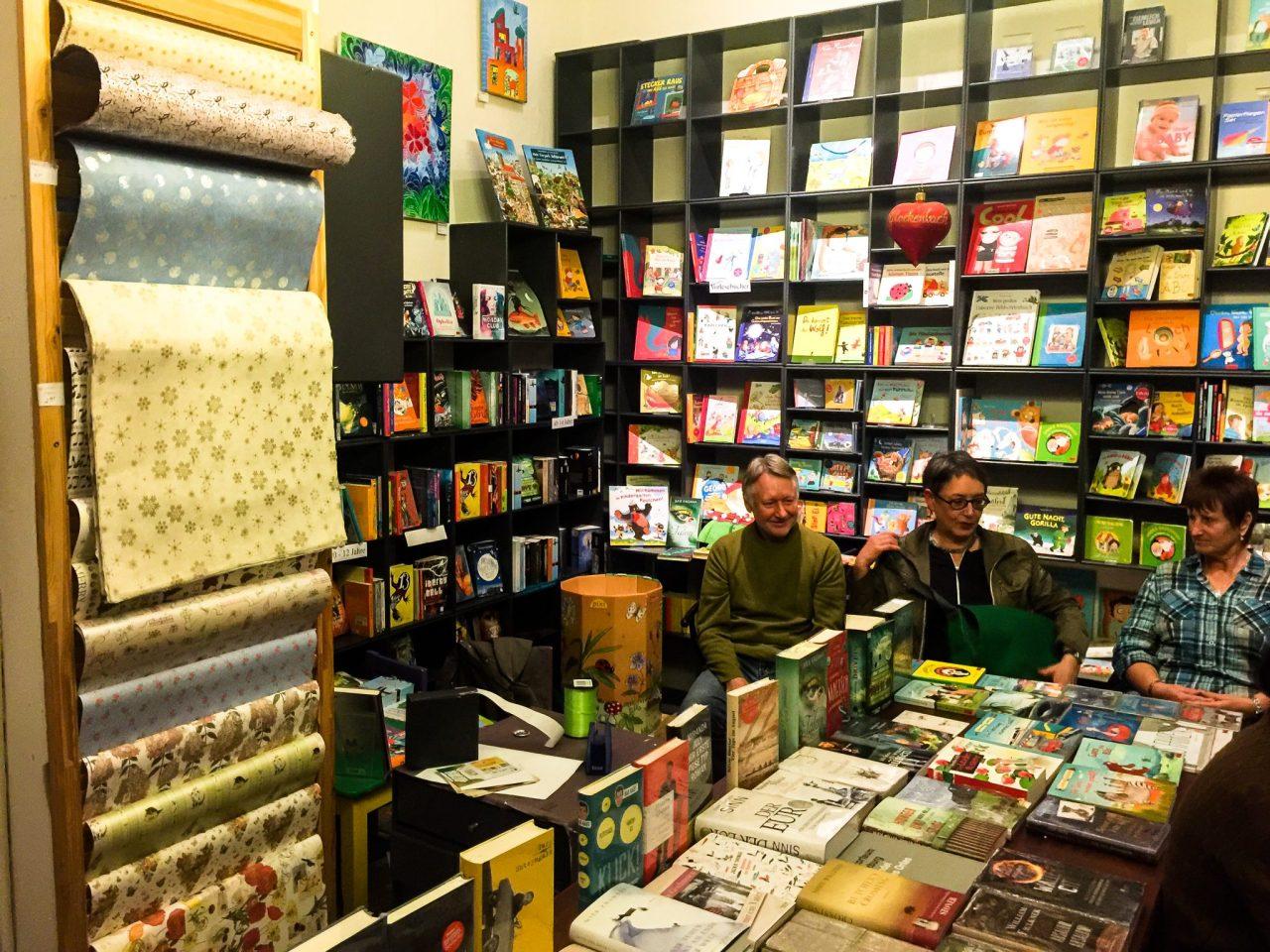 Ein wunderbarer Ort für eine Lesung