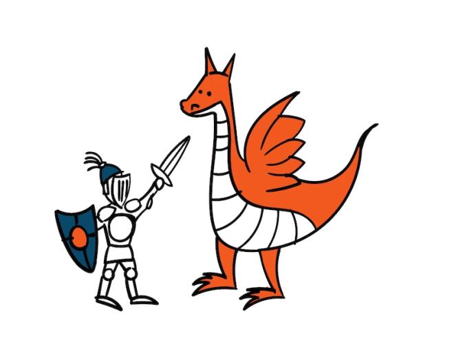 Schreibkurs Drachentöter
