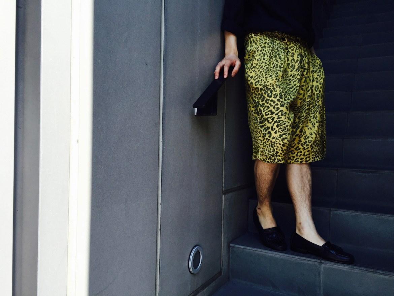Jacquard Leopard Shorts Styling
