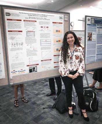 Schreiner Intern Performing Research at NIH in Bethesda, MD