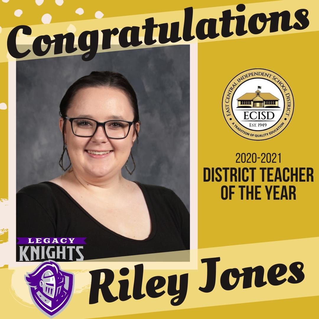 Riley Jones-Trinity Award for Excellence in Teaching