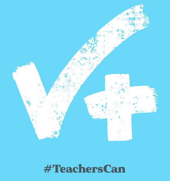 #TeachersCan