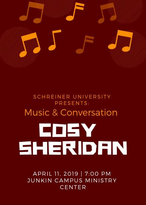 Music & Conversation Cosy Sheridan