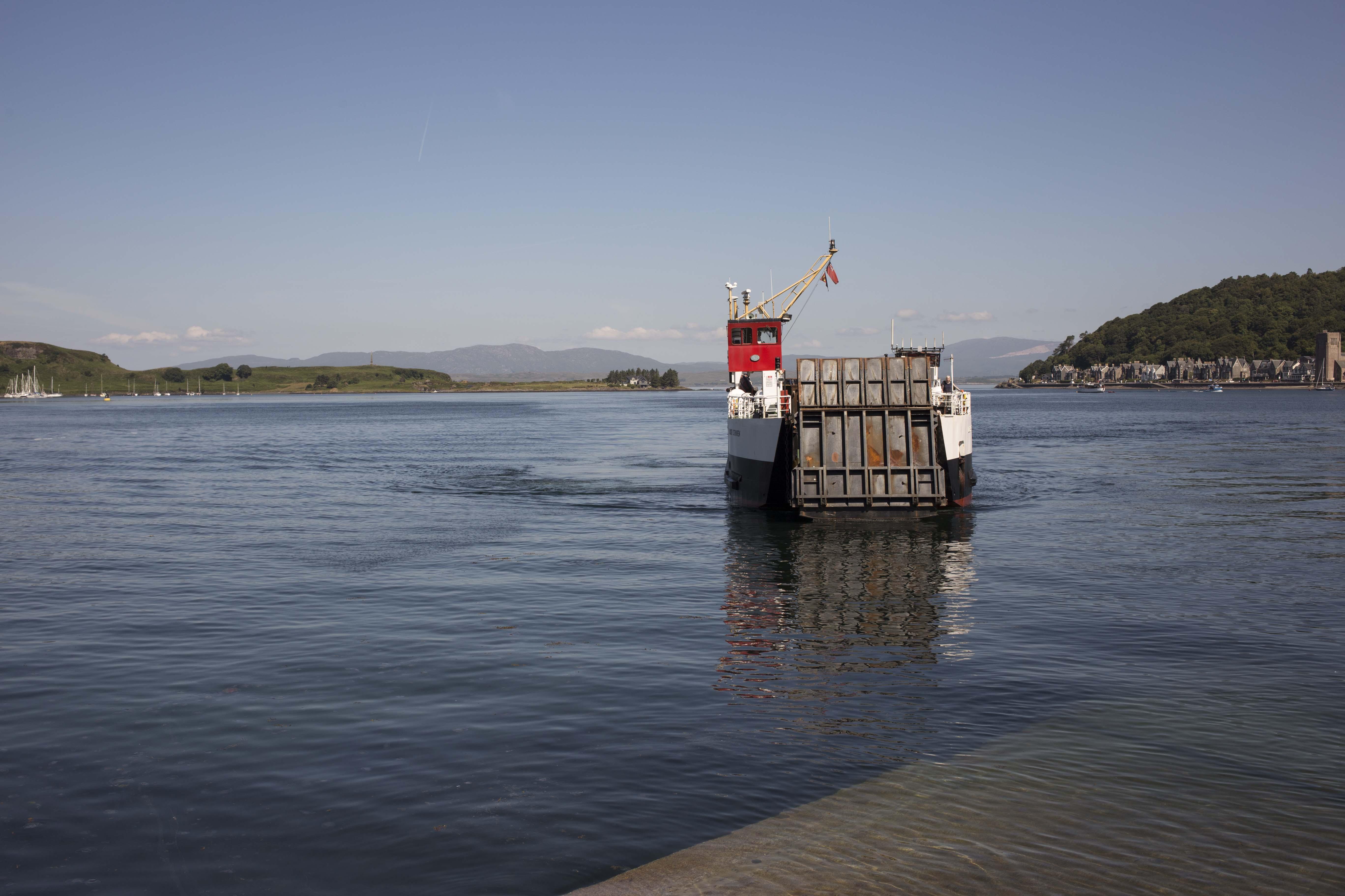 Scotland Ferry Boat