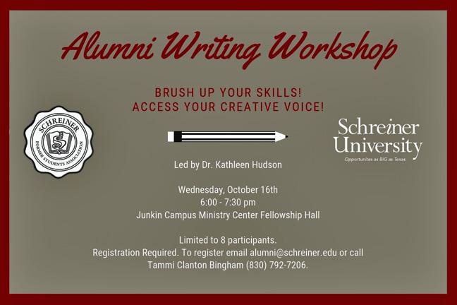 Alumni Writing Workshop