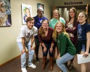 Schreiner students organize event for area high school student-artists