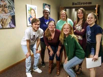 Schreiner students organize event for area high school student-artists