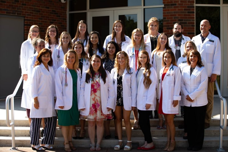 Schreiner University holds White Coat Ceremony for Class of 2021