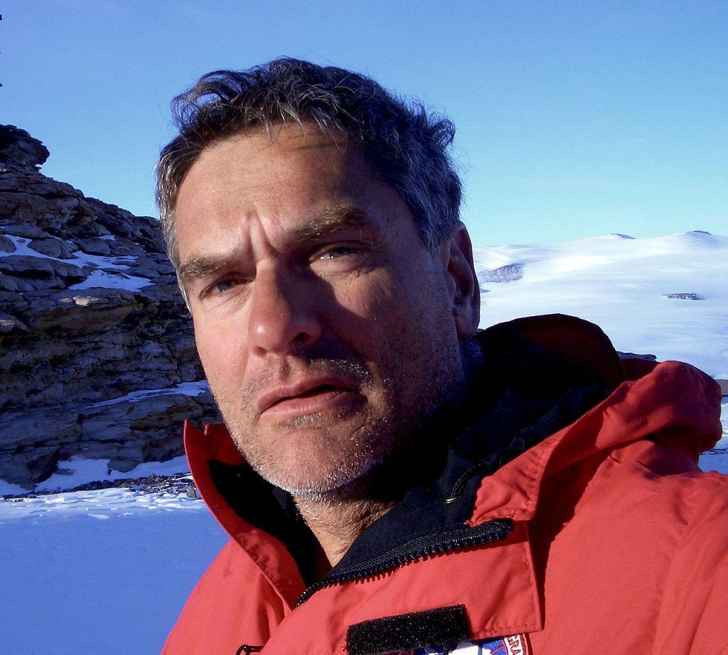 Christopher McKay in Antarctica