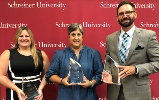 Schreiner Former Students Association Next Generation Impact Award Recipients
