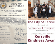 Kerrville Kindness Award
