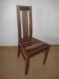968 Stuhl in Nußbaum Longline Konus (1)