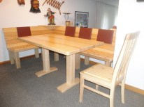 Sitzgruppe CLASSIC mit Säulenfuß-Tisch