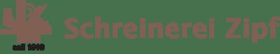 Schreinerei Zipf Logo
