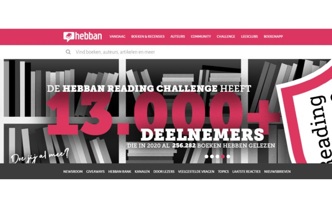 Hebban Reading Challenge 2021