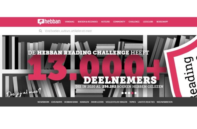 Hebban Reading Challenge 2021