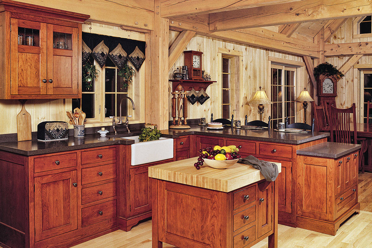 Cabinetry Kitchen Cabinetry Cherry Shaker Kitchen