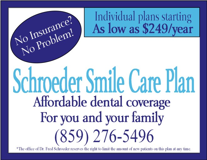 insurance free dental plan