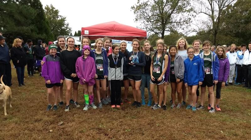 2018 Girls SCHSAA XC Champions