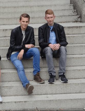 Finden Austausche klasse: Jan Bolsinger (SG) und Thomas Ulrich (Nîmes)