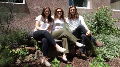 29.06.2017: Liana und Filip mit Individualaustausch-Koordinatorin Andrea Ariman