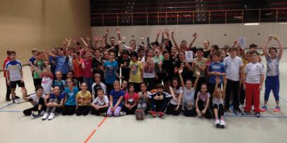 Wintersport 2016 unter Anleitung der Schülerinnen und Schüler der Kursstufe