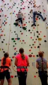 03.07.2017: Sportklettern in der Kletterhalle