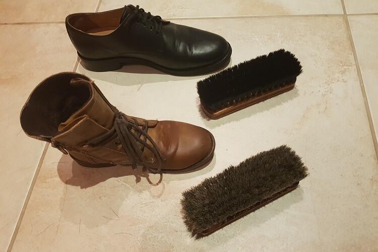 Langlauf Premium Schuhputzset polieren