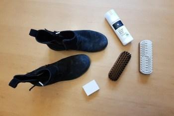 Schuhpflegeset kaufen Rauleder