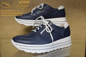 Super weicher Hirschleder-Sneaker von Waldläufer