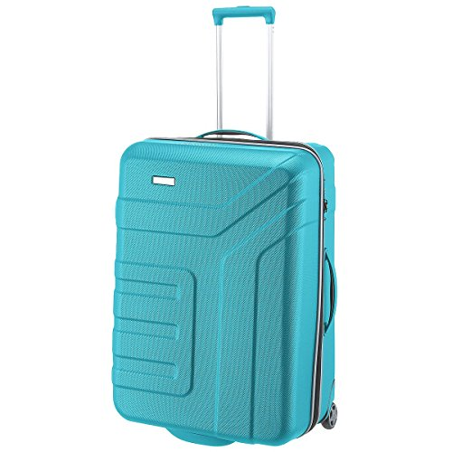 """Travelite Valise trolley """"Vector"""" avec 2 roues turquoise Koffer, 73 cm, 110 liters, Türkis (Turquoise)"""