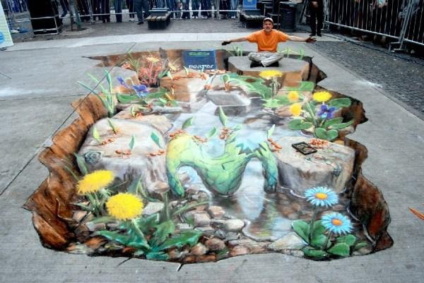 Of 3d Street Art Julian Beever Vero Ikon