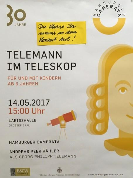 Telemann im Teleskop