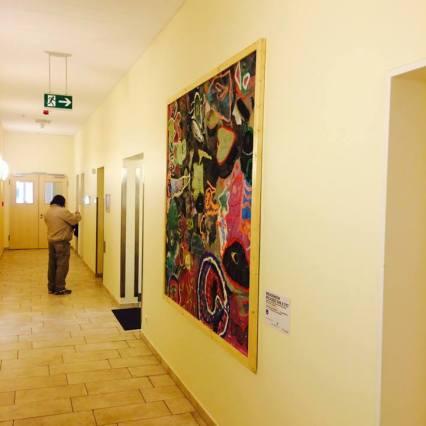 """Die """"Picassos"""" der 1a in der Asklepios Klinik Nord - Ochsenzoll."""