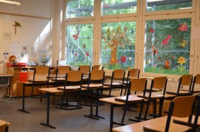 Ein erwartungsvoller Klassenraum!