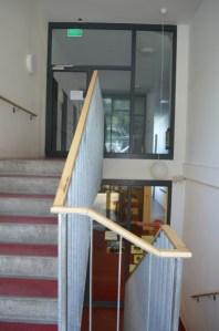 Unser Treppenhaus im Neubau ist wieder sauber! Morgen laufen hier wieder Kinderfüfße nach oben.