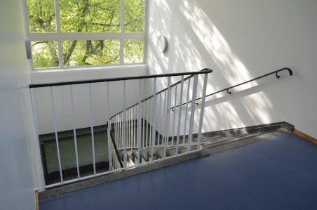 Das alte Treppenhaus erstrahlt im neuen Glanz!