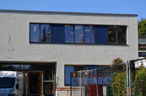 Die neue Fassade