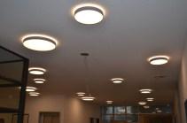 Lampen im Eingangsbereich