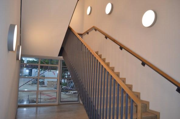 Das neue Treppenhaus
