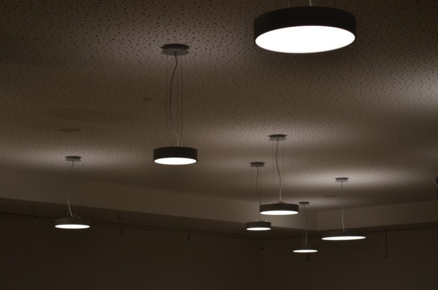 Lampen für die Mensa