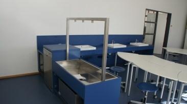 Platz für Wasserexperimente.
