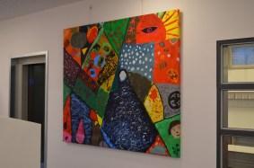 Die Picassobilder hängen!
