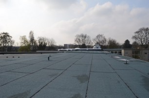 Ein Blick vom Dach