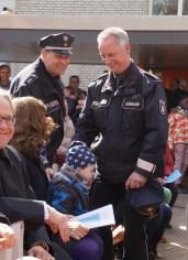 Auch Vertreter der Langenhorner Polizei waren dabei!