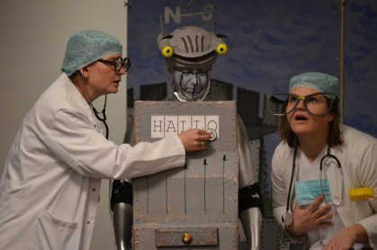 Ritter Rost wird von den Ärzten geprüft!