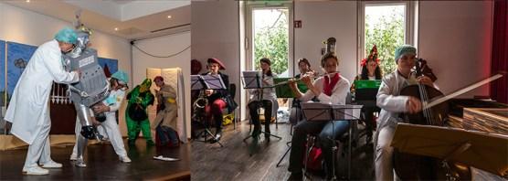 Tolle Kostüme und das Elternorchester mit bis zu 10 Musikern sorgen Jahr für Jahr für ein einmaliges Erlebnis.