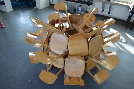 Ver-rückte Stühle
