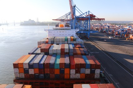 Container Terminal Altenwerder (CTA) Foto: HHLA
