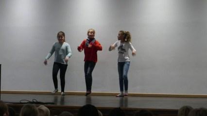 Und auch ein Tanz wurde aufgeführt.